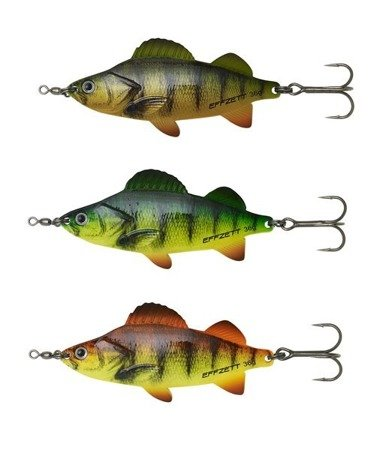 Błystka DAM Effzett Perch Spoons 9cm / 36g - Perch