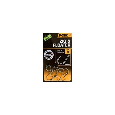 Haczyki Fox EDGES™ Zig & Floater 6