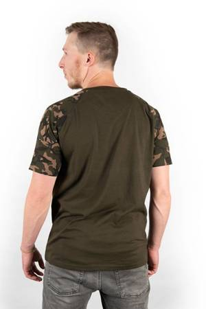 Koszulka Fox Chest Print Camo / Khaki T-Shirt XXL