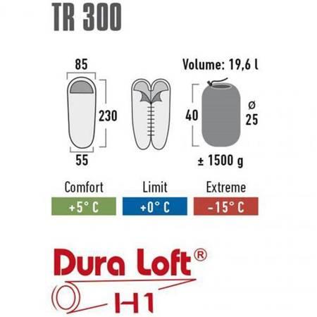 Śpiwór High Peak TR 300 230x85x55 23065