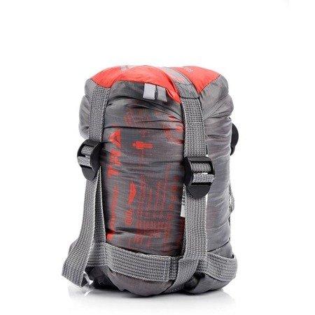 Śpiwór Meteor Trail szaro czerwony