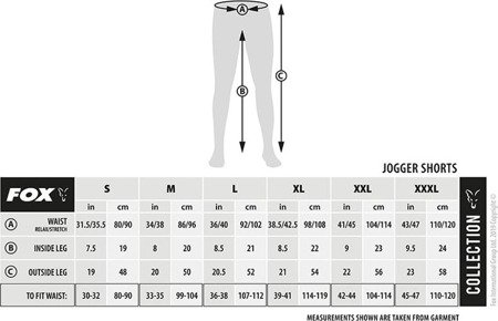 Spodenki Fox Collection Orange & Black Lightweight Shorts M