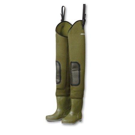 Spodniobuty, wodery neoprenowe DAM FIGHTER PRO+ NEOPRENE HIP r. 42/43
