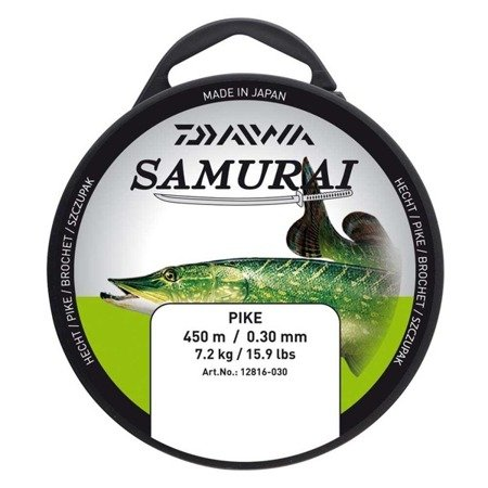 Żyłka Daiwa Samurai Szczupak 350m / 0,35mm